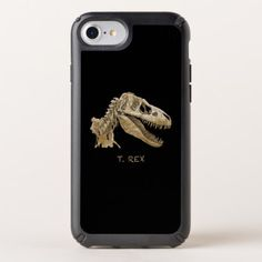 I phone case design of the dinosaur T.Rex.  $49.95  by DinosaursAndStuff  - cyo customize personalize unique diy idea