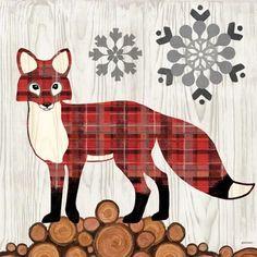 Norwegian Wood-Fox by Jennifer Brinley   Ruth Levison Design