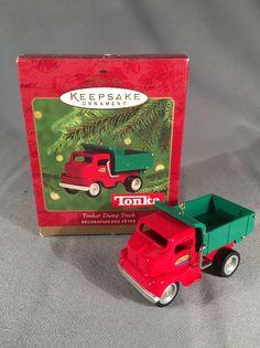 Hallmark Keepsake Ornament 2000- Tonka Dump Truck Die Cast | Collectibles, Decorative Collectibles, Decorative Collectible Brands | eBay!