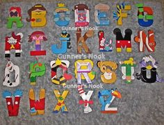 mickey mouse clubhouse letters - Google Search