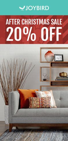 Looking to mix up the furniture in your home? Look no further than Joybird's selection of Mid-Century Modern pieces for every room in your home. From lamps to sleeper sofas, mixing up living furniture will take your entertaining space to the next level. Mix and match your home with Joybird today during our After Christmas Sale, and get 20% off your entire order!
