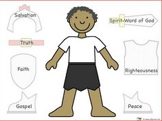 Armor of God For more pins like this visit: http://pinterest.com/kindkids/religious-education/