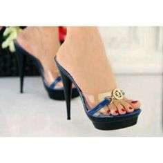 Heels Jelly Gold