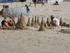 Zamki z piasku, zabawa dla każdego :)