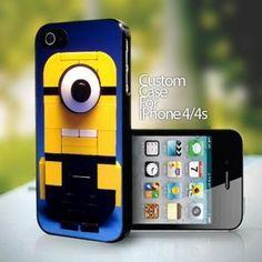 10751 Despicable Me Minions design for iPhone 4 or 4s case