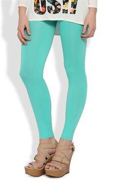 Deb Shops ##mint Colored Seamless Basic Legging $6
