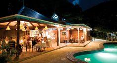 The Mango Tree Restaurant At Night