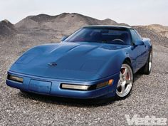 One Of 44 Rare Zr 1 /  Vette Magazine  David Johnson's rare ZR-1. Don't think this just sits in the garage!