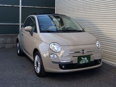 Beige Cappuccino Fiat 500 <3 another favourite colour!