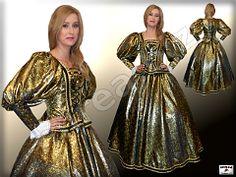 Dámske šľachtické barokové šaty