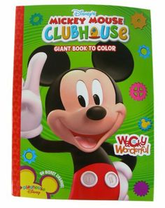 Disney Mickey Mouse Clubhouse Coloring Activity Book
