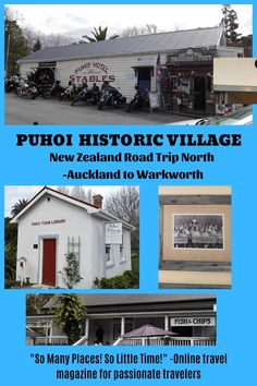 Puhoi Historic Village on road trip north New ZealandCheck it out!