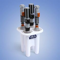 Lightsaber Ice Pop - 8 Star Wars Ice Cube Trays That Belong on the Planet Hoth (list)