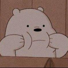 Cartoon Wallpaper Iphone, Bear Wallpaper, Cute Disney Wallpaper, Cute Cartoon Wallpapers, Animes Wallpapers, Vintage Wallpapers, Kawaii Wallpaper, Ice Bear We Bare Bears, We Bear