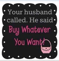 Your husband called and said to buy whatever you want! https://www.youniqueproducts.com/LindseyLorenz