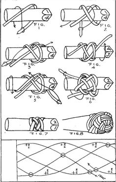 How To Braid Rope, Rope Knots, Macrame Knots, Willow Weaving, Basket Weaving, Turks Knot, Nautical Knots, Paracord Knots, Paracord Projects