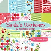 Elves, toys,snowflakes, Christmas