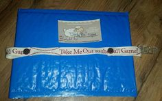 """""""Take Me Out to the Ball Game"""" binki/teether holder with clear clip will be headed to New York tomorrow!"""