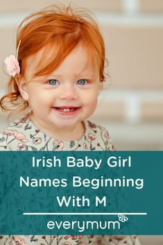ne of our mums-to-be is hoping to give her little girl a traditional Irish name,. Irish Last Names, Irish Boy Names, Irish Girls, M Girl Names, Cool Boy Names, Unique Girl Names, Traditional Irish Girl Names, Scottish Baby Girl Names, Petite Fille
