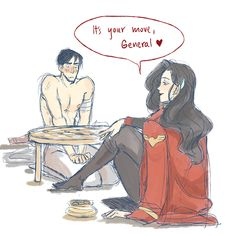 I love the Irohsami pairing but, poor Iroh!  But not poor Asami because of Iroh's *ahem* muscularity. ;)