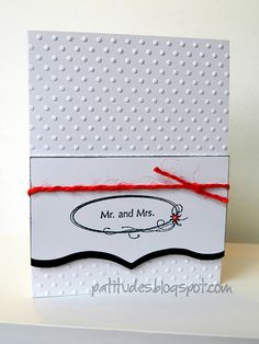 Wedding Card - Mr. and Mrs.