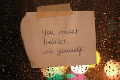 You must. <3