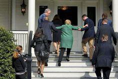 WHOA! Hillary Clinton Stumbles Out Of Restaurant In Manhattan (VIDEO)