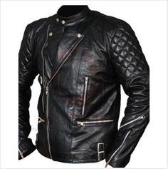 Men's Leather Ultimo Brando-Style Biker Jacket