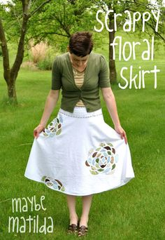 Lovely skirt idea! #sewing
