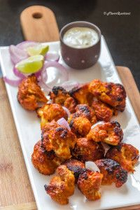 Tandoori gobi or tandoori cauliflower is my vegetarian take on the flagship recipe of Tandoori chicken and it proved to be totally mind-blowing! Gobi Recipes, Veg Recipes, Indian Food Recipes, Cooking Recipes, Healthy Recipes, Ethnic Recipes, Cooking Pasta, Cooking Games, Recipes Dinner