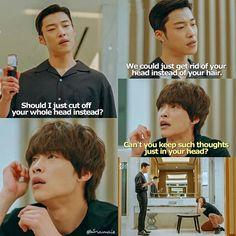 Korean Drama Funny, Watch Korean Drama, Korean Drama Quotes, Asian Actors, Korean Actors, Korean Dramas, Lee Min Ho Wallpaper Iphone, Gu Family Books, Kdrama Memes