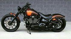 Harley Bikes, Harley Davidson Motorcycles, Custom Motorcycles, Cars And Motorcycles, Custom Street Bikes, Custom Bikes, Harley Davidson Breakout Custom, New Harley, Victory Motorcycles