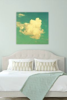 photography canvas art nursery cloud