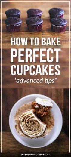 cupcakes | perfect cupcakes | bake cupcakes tips | baking tips and tricks |