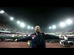 Higuain canta: Un giorno all'improvviso  - Napoli Genoa stadio San Paolo