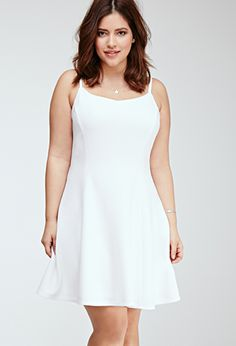 Dresses   PLUS   Forever 21  literally I wore this and it was so perfect . I didnt even have to put a bra on.