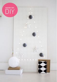 Pegboard like a giant sewing card