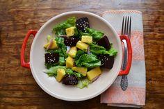 Ensalada con mango y betabel por Madeleine Cocina