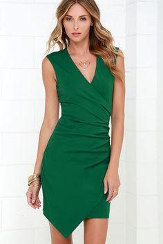 Splendid Story Green Dress