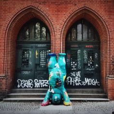 Iconic Berlin bear