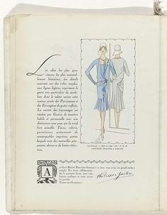 Art - Goût - Beauté, Feuillets de l' élégance féminine, Noël 1928, No. 100, 9e Année, p. 34, Anonymous, Philippe et Gaston, Charles Goy, 1928