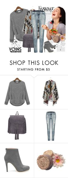 """Yoins sweatshirt"" by irinavsl ❤ liked on Polyvore featuring women's clothing, women's fashion, women, female, woman, misses and juniors"