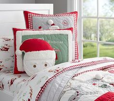 New Christmas Up on Roof Top Comforter Sheets Bed in Bag Twin or ... : kids christmas quilts - Adamdwight.com