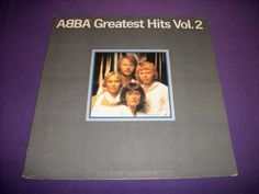 "Abba - Greatest Hits Vol. 2 - Rare 12"" Vinyl LP Record - Atlantic SD 16009 - NM"