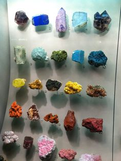 Gem Stones and Minerals  At The Natural History Museum  NYC