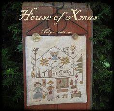 Nikyscreations: HOUSE OF XMAS