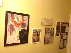 Our first gallery wall in the hallway!