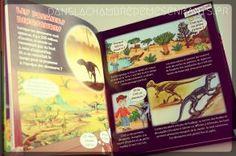 Livre jeunesse - Pour les enfants - Les dinosaures - Editions Fleurus