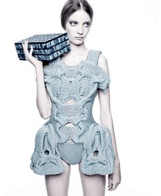 Abigail Doan: Sandra Backlund's Pool Position Knitwear