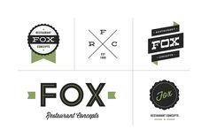 Spout Off | Kitchen Sink Studios | Fox Restaurants Logos